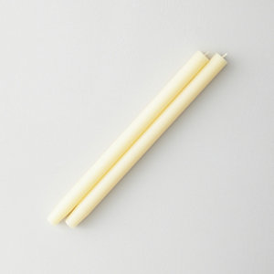 TAPERED CANDLE IVORY