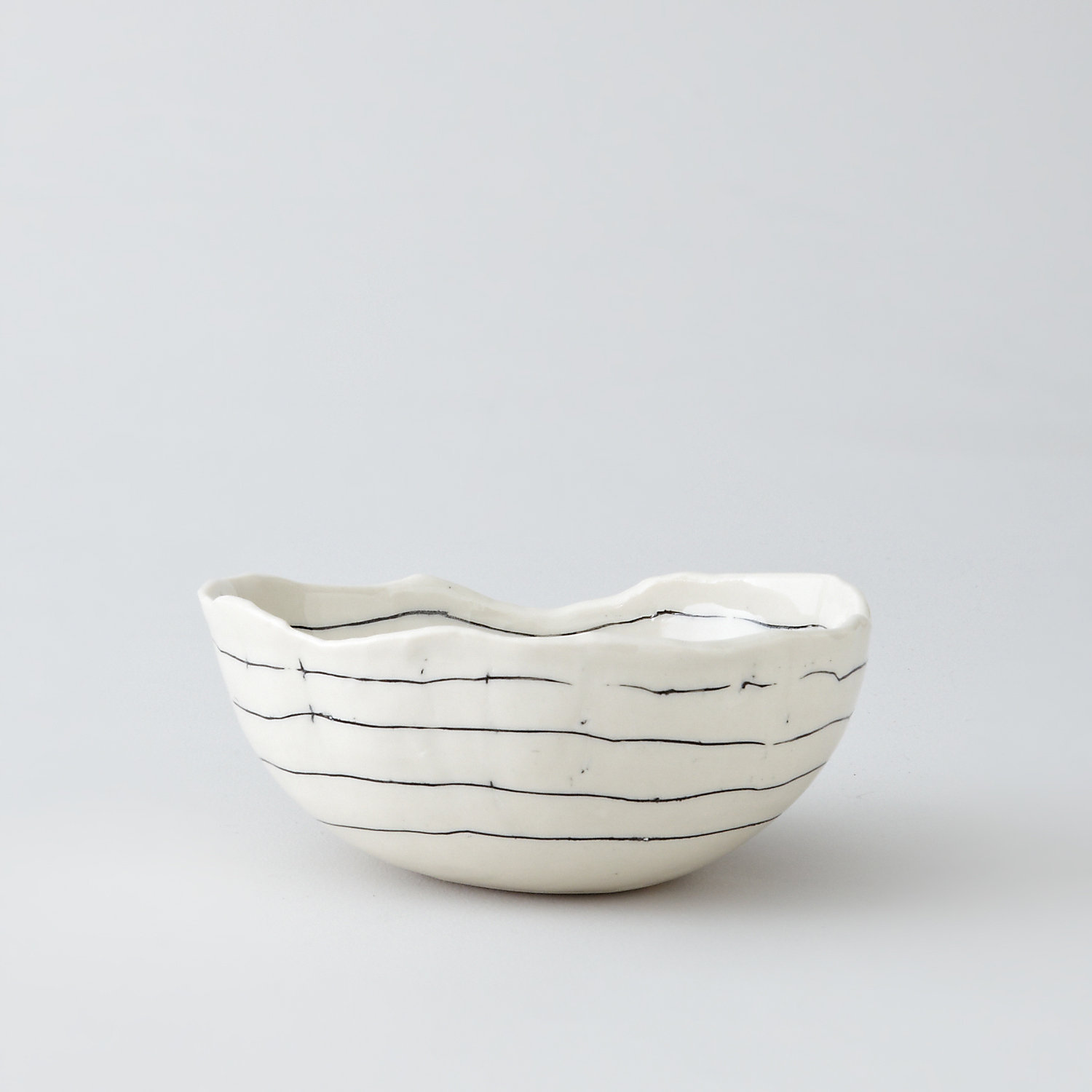 STRIPED BOWL