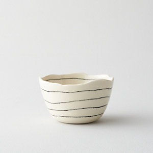 STRIPED RICE BOWL