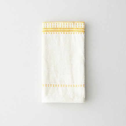 YELLOW STRIPES NAPKIN
