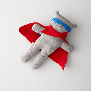 Super Ted with Red Cape