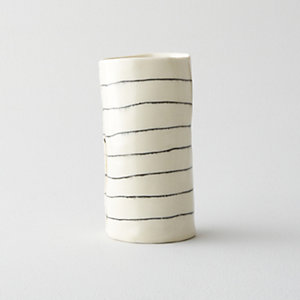 TALL STRIPED CUP