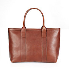 Leather Zip Tote