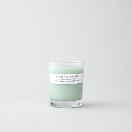 BOUGIE NO.3 TOMBAC CANDLE