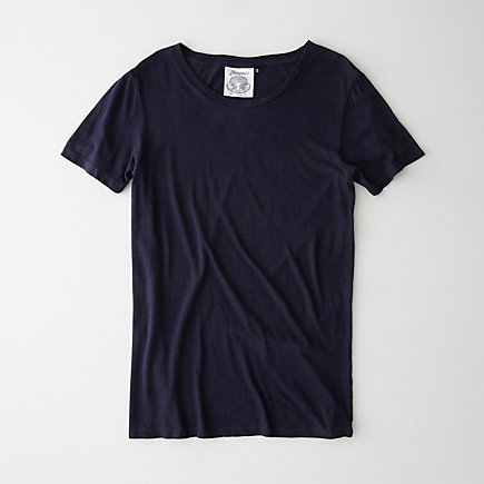 WOMEN'S GARMENT DYED HEMP T-SHIRT