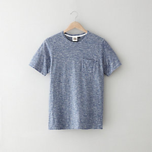 YARN DYED HEMP POCKET T-SHIRT