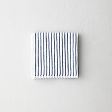 SHIRT STRIPE MINI TOWEL