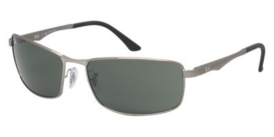 Ray-Ban RB3498 61 Gunmetal Mens Prescription Sunglasses