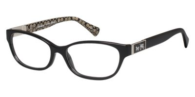 Coach HC6061 EMMA Womens Black Prescription Eyeglasses