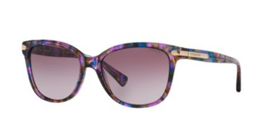Coach Purple HC8132 Sunglasses