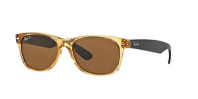 Ray-Ban Gold RB2132 New Wayfarer