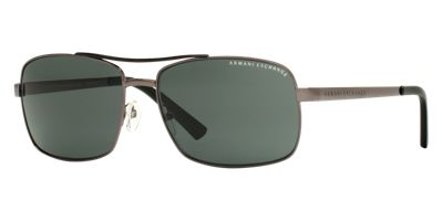 Armani Exchange AX2004 Gunmetal Sunglasses