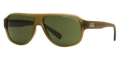 Armani Exchange AX4005 Green Sunglasses