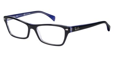 Ray-Ban Black Purple RX5256 Eyeglasses