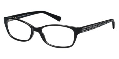 Armani Exchange AX3009 Black Eyeglasses