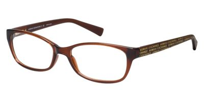 Armani Exchange AX3009 Clear Brown Eyeglasses