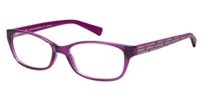 Armani Exchange AX3009 Clear Purple Eyeglasses