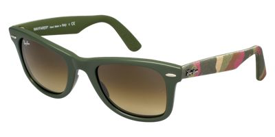 RAY-BAN RB2140 Green Wayfarer Sunglasses