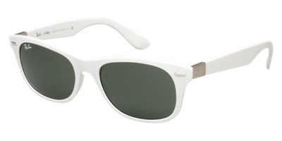 Ray-Ban RB4207 White Sunglasses