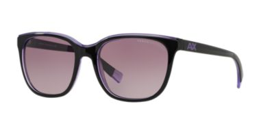 Armani Exchange Black Purple AX4031 Prescription Sunglasses | TargetOptical.com