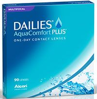 Dailies Aquacomfort Plus Multifocal 90Pk $87.99