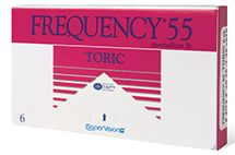 Frequency 55 Toric 6PK $84.99