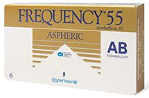 Frequency 55 Aspheric 6PK $50.99