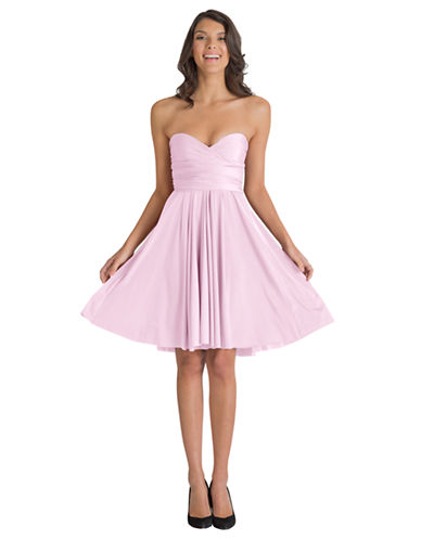 Henkaa One Size Sakura Midi Convertible Dress-BABY PINK-One Size