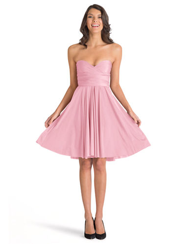 Henkaa One Size Sakura Midi Convertible Dress-BLUSH PINK-One Size