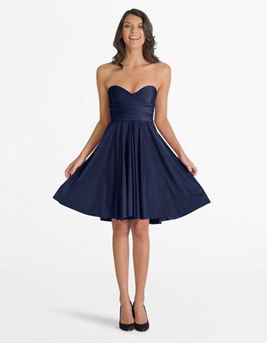 Henkaa One Size Sakura Midi Convertible Dress-NAVY-One Size