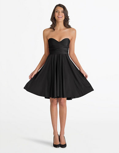 Henkaa One Size Sakura Midi Convertible Dress-BLACK-One Size