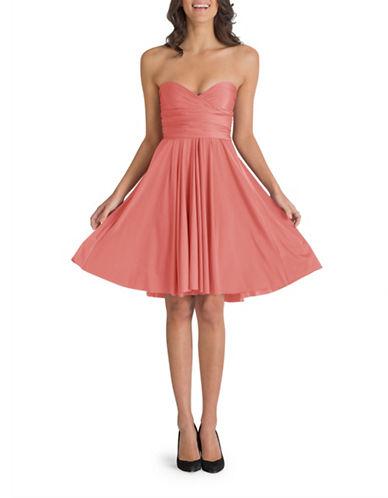 Henkaa One Size Sakura Midi Convertible Dress-PEACH-One Size