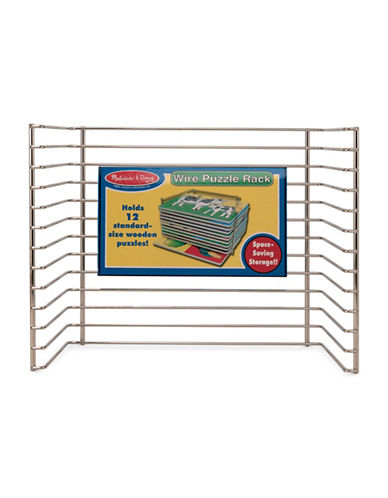 Melissa & Doug Single Wire Puzzle Rack-MULTI-One Size