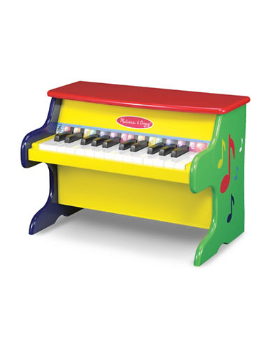 Melissa & Doug Learn-to-Play Piano Game Set-MULTI-One Size