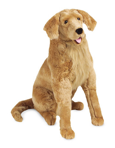 Melissa & Doug Golden Retriever Plush-MULTI-One Size