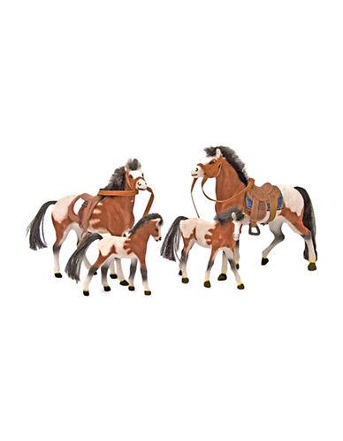 Melissa & Doug Four-Piece Horse Family-MULTI-One Size