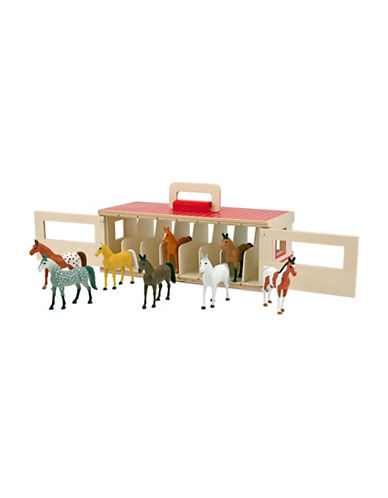 Melissa & Doug Take-Along Show-Horse Stable-MULTI-One Size 88605470_MULTI_One Size