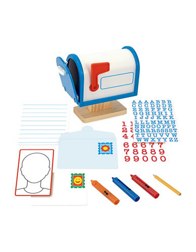 Melissa & Doug My Own Mailbox Activity Set-MULTI-One Size