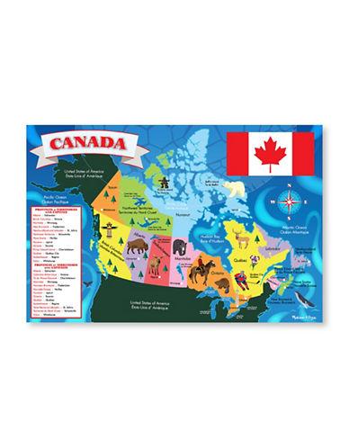 Melissa & Doug Canada Floor Map-MULTI-One Size
