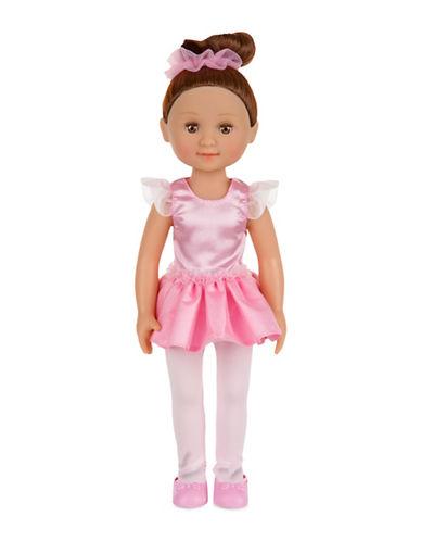 Melissa & Doug Victoria 14in Ballerina Doll-MULTI-One Size