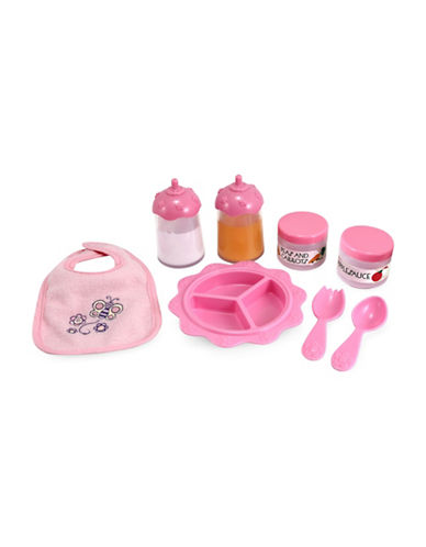 Melissa & Doug Time to Eat Feeding Eight-Piece Set-MULTI-One Size