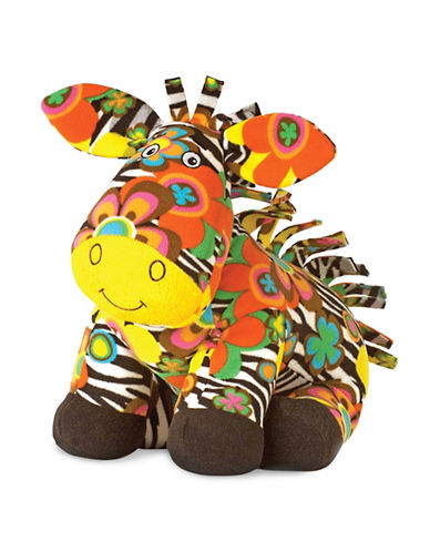 Melissa & Doug Beeposh Zelda Zebra Stuffed Animal-MULTI-One Size