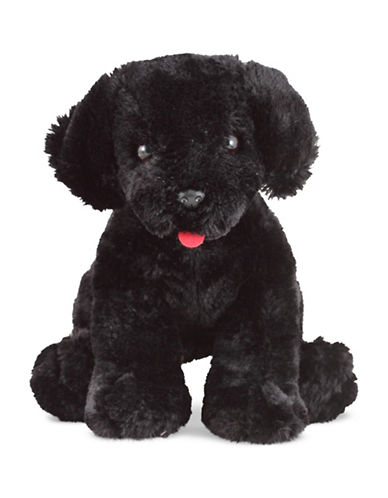 Melissa & Doug Benson Black Lab Stuffed Animal-MULTI-One Size
