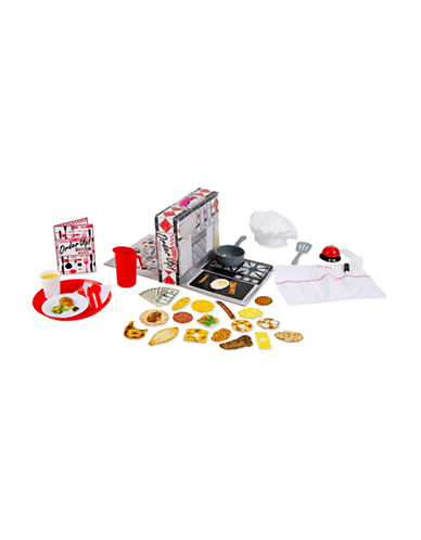 Melissa & Doug Order Up Diner Play Set-MULTI-One Size