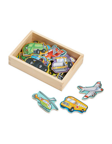 Melissa & Doug Wooden Vehicle Magnets-MULTI-One Size