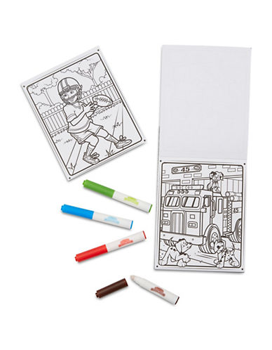 Melissa & Doug Games and Adventure colouring Pad-MULTI-One Size