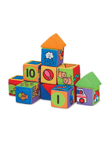Melissa & Doug Match and Build Blocks-MULTI-One Size