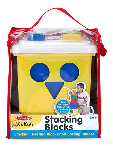 Melissa & Doug Stacking Blocks-MULTI-One Size