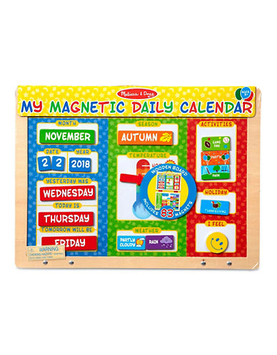 Melissa & Doug My First Daily Magnetic Calendar-MULTI-One Size