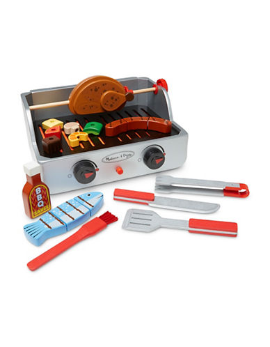 Melissa & Doug The Wooden Rotisserie and Grill Barbecue Set-MULTI-One Size 89001486_MULTI_One Size